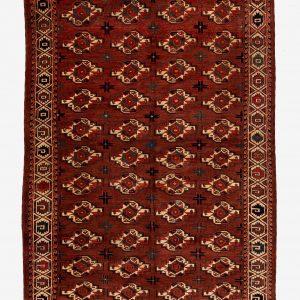 Turkmenischer Hauptteppich